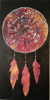 (SOLD) Dream Catcher 1 10 X 19.75