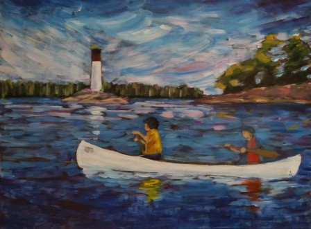 St. Lawrence Paddle 16 X 24