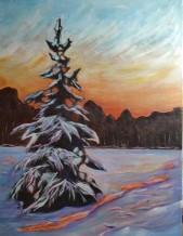 Lone Pine 18x24