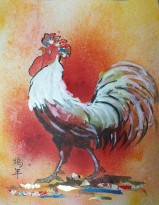 (SOLD) Year of the Rooster
